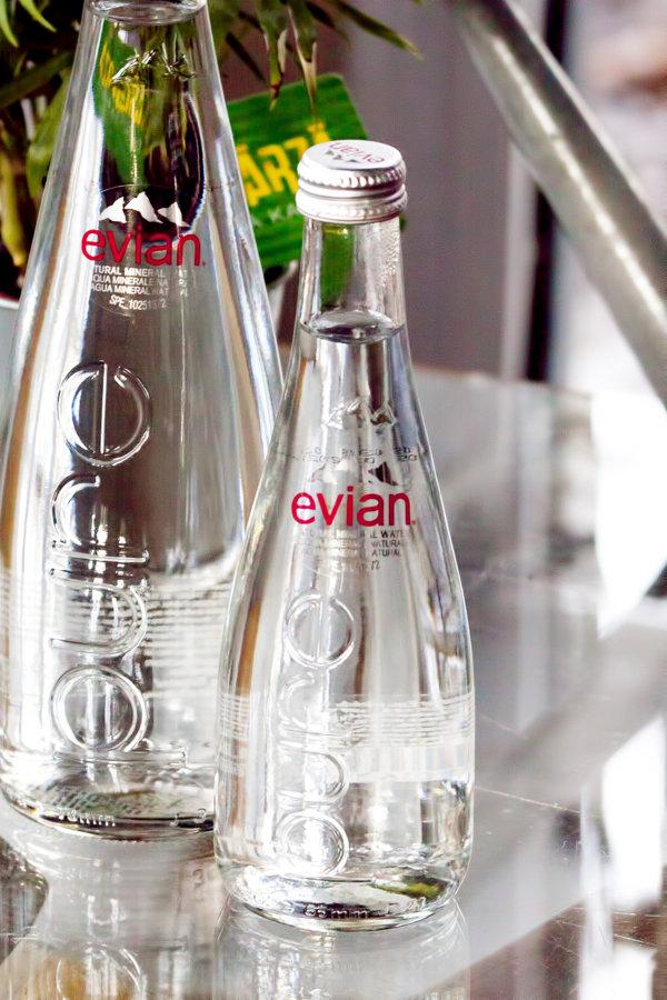 Ūdens Evian 0,3 L negāzēts