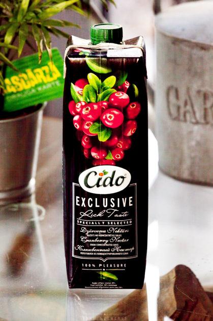 Dzērveņu sulas dzēriens CIDO 1 L